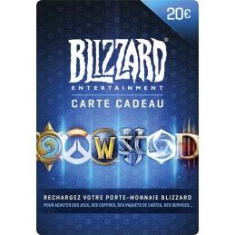 Code prépayé Blizzard 20€