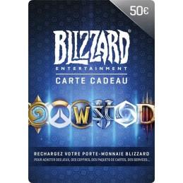 Code prépayé Blizzard 50€