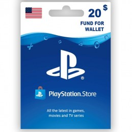 PlayStation Store 20 Dollar...