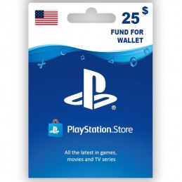 PlayStation Store 25 Dollar...