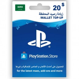 PlayStation Store 20 (KSA)...