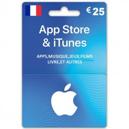 iTunes Store 25 Euro (Fr)...