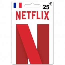 Netflix 25 Euro (Fr) france