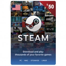 Steam 50 Dollar (USA)