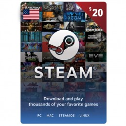 Steam 20 Dollar (USA)