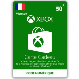 Xbox Live 50 Euro (Fr) France