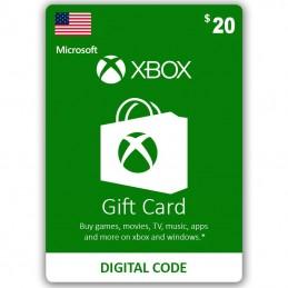 Xbox Live 20 Dollar (USA)