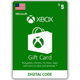 Xbox Live 5 Dollar (USA)