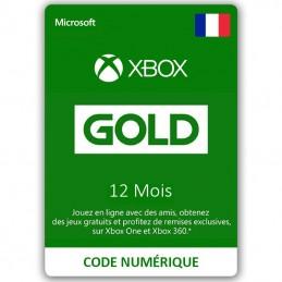 Abonnement Xbox Live Gold...
