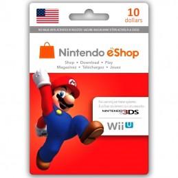 Nintendo eShop 10 Dollar USA