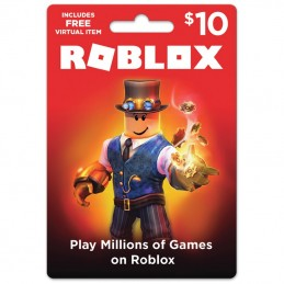 Roblox Card 10 USD NORTH...