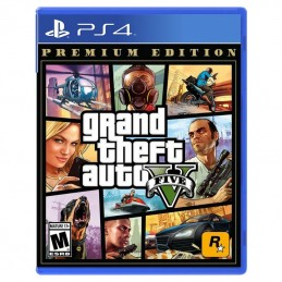 GTA V Edition Premium Ps4