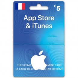 iTunes Store 5 Euro (Fr)...