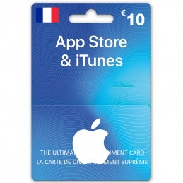 iTunes Store 10 Euro (Fr)...