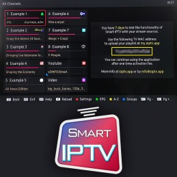 Abonnement IPTV - SMART TV...