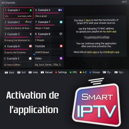 Activaion du Smart iptv Sur...