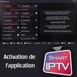 Activation application  du...
