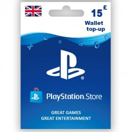 PlayStation Store 15£ (UK)...