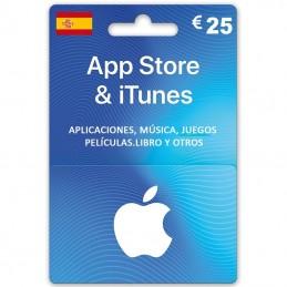 App Store & iTunes 25 Euro...