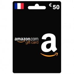Carte Amazon 50 Euro France