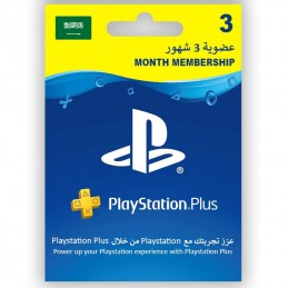 PlayStation Plus 3 mois...