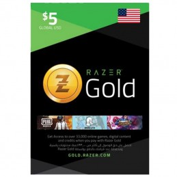 Razer Gold 5 Dollar (USA)