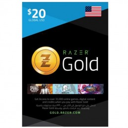Razer Gold 20 Dollar (USA)