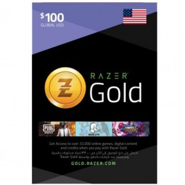 Razer Gold 100 Dollar (USA)