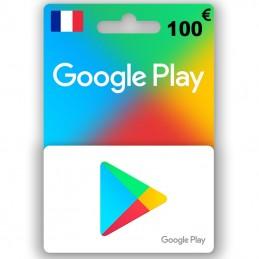 Google Play 100 Euro (Fr)...