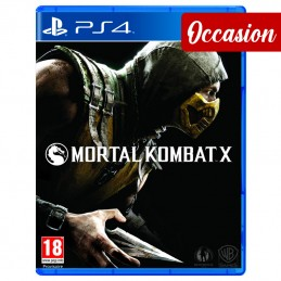 Mortal Kombat X Ps4 (Occasion)