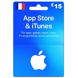 iTunes Store 15 Euro (Fr)...