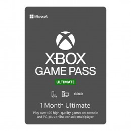 Xbox 1 Month Game Pass...