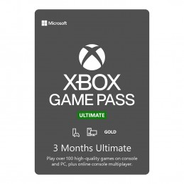 Xbox 3 Month Game Pass...