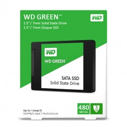 Disque Dur WD Green SSD 480Gb