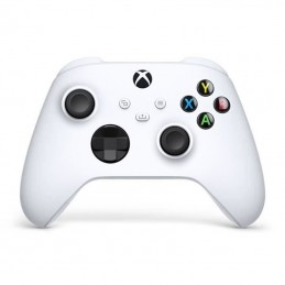Manette Xbox Series sans fil nouvelle génération – Robot White – Blanc – Xbox Series / Xbox One / PC Windows 10 / Android / iOS