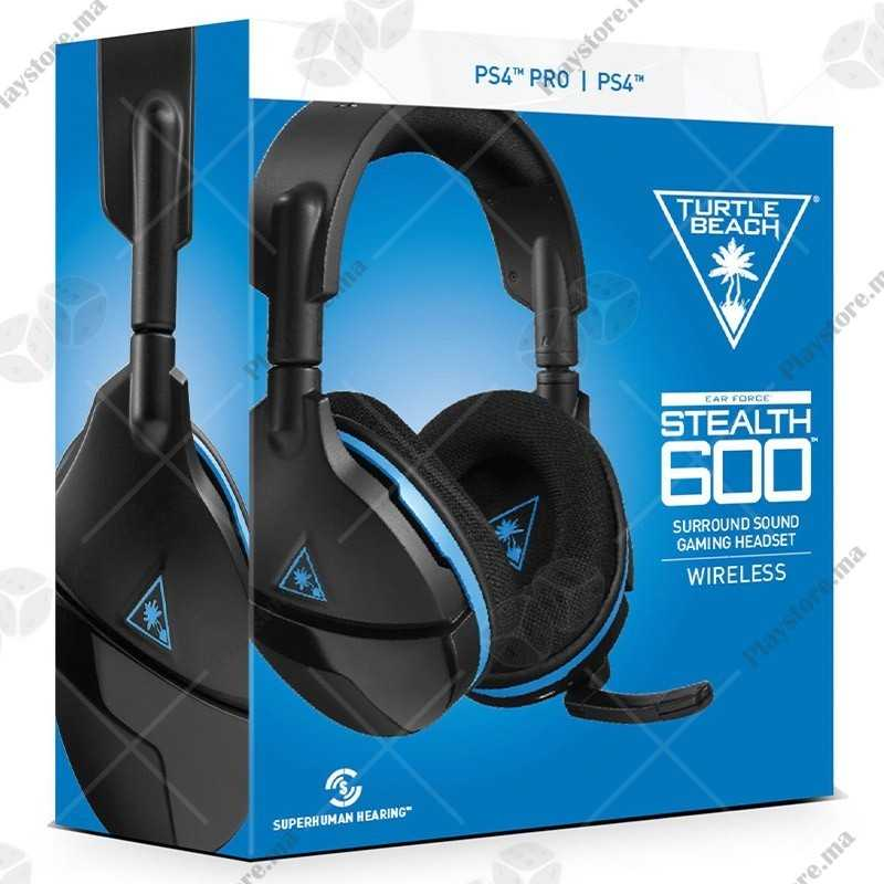 Turtle BEACH® Stealth 600 Wireless Surround Sound Gaming Headset for PlayStation®4 PRO And PlayStation®4