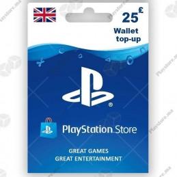 PlayStation Store 25£ (UK)...