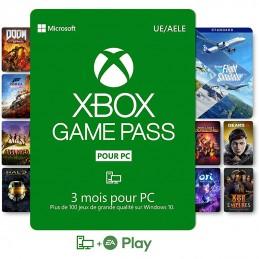 Abonnement Xbox Game Pass...